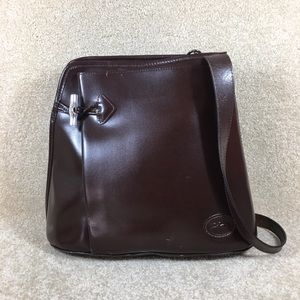 ⭐️ Vintage Longchamp Roseau Leather Shoulder Bag
